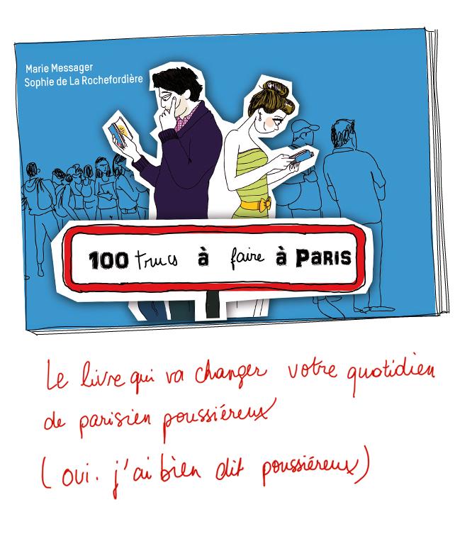100 trucs à faire à Paris