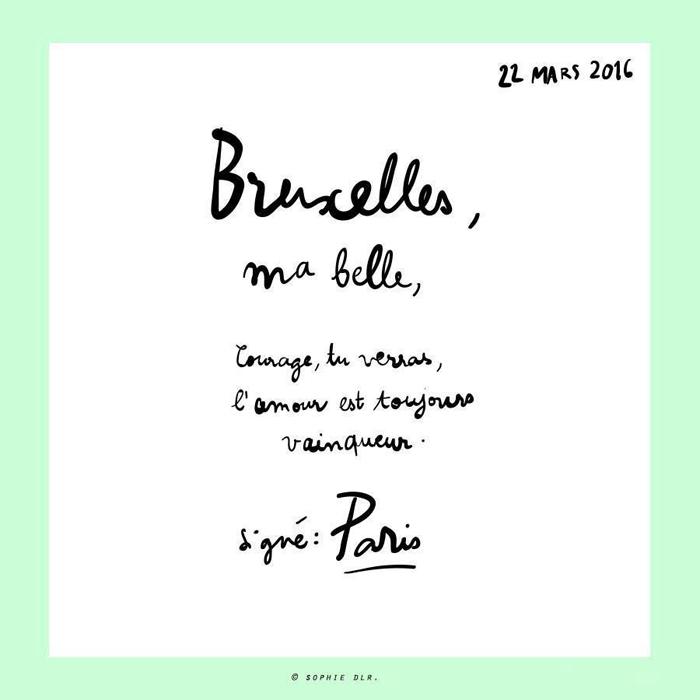 Sophie de la rochefordière - Bruxelles ma belle